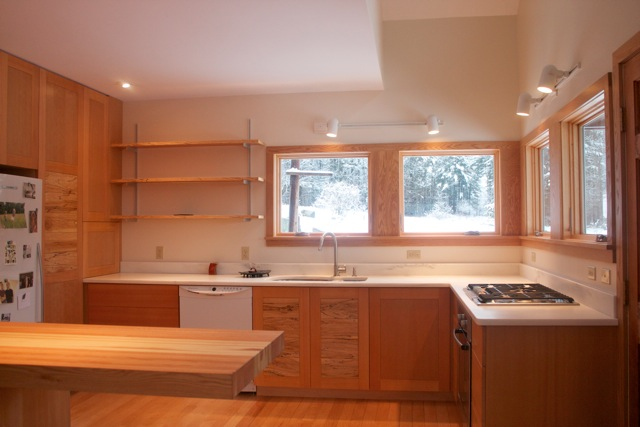 kitchen-douglas fir cabnet